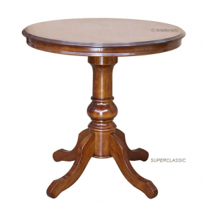 Round wooden table 80 cm