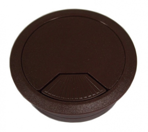 Cable grommet hole cover