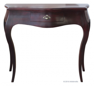 Classic shaped console table