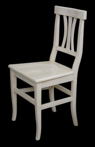 Solid beech wood chair