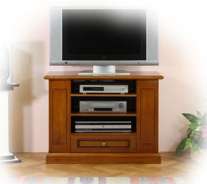 Functional tv unit in wood