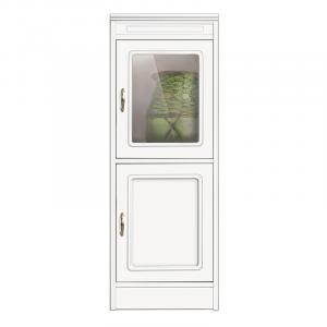 Compos collection 2 door cabinet, 1 glass door