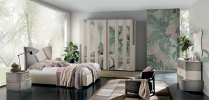 Modern design wardrobe, 2 sliding doors