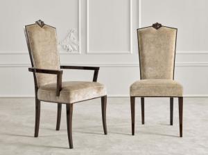 Elegant armchair B-King
