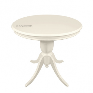 Small round table, side table for living room