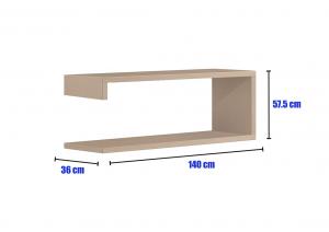 Modular tv unit MixIT collection - option 7