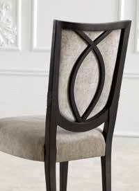 Arch design chair for dining room