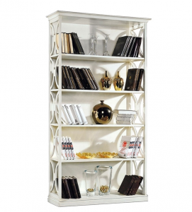 Open shelving bookcase for living room Arco collection