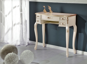 Decorated console table 5 drawers