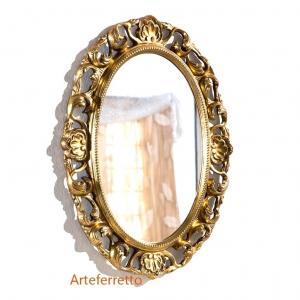 Elegant oval mirror