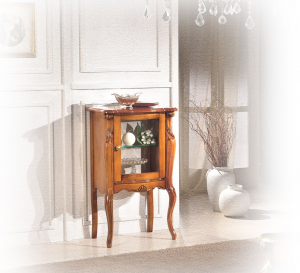 Small display cabinet in wood