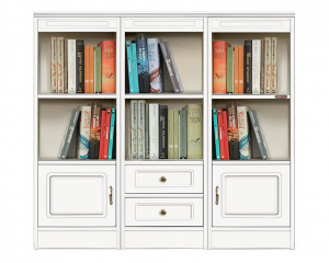 Low bookcase Compos Collection