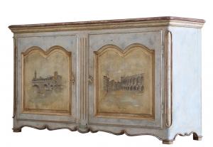 Decorated sideboard Old Verona