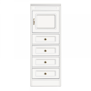 Compos collection - Wooden 4-drawer sideboard