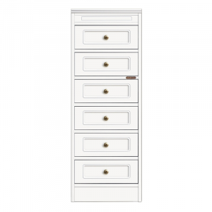 Compos collection - Narrow 6-drawer dresser