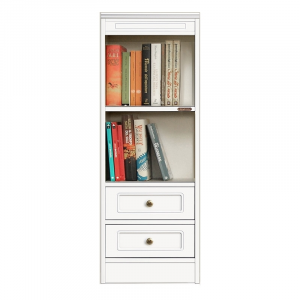 Compos collection - Small bookcase with 2 drawers