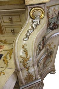 Venetian trumeau in wood