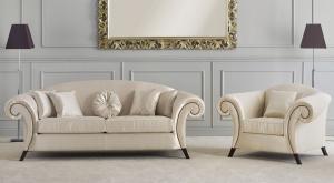 Upholstered armchair Love affair