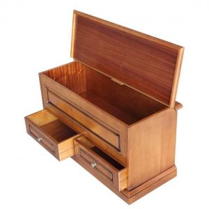 Space saving storage chest