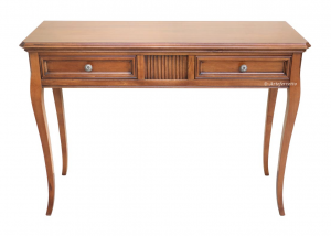 Rectangular console table in wood