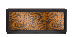 Modern design sideboard in wood