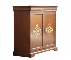 2 door sideboard with friezes