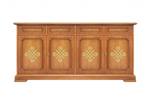 Dining room sideboard with friezes