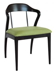 Italian design wooden chair Slancio