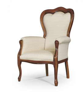 Classic armchair with 3 bows