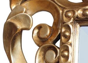 Carved mirror Lovelock