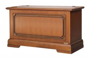 Wooden storage chest 100 cm