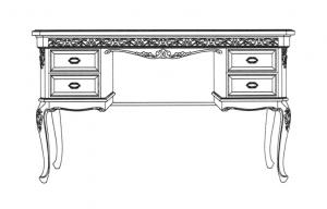 Dressing table set Aurora