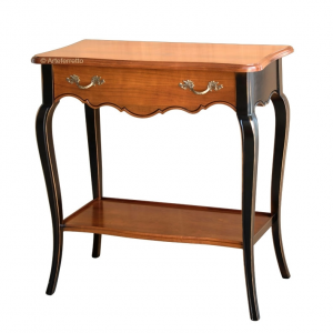 Console table in cherry wood