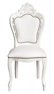 Carved chair Magic White