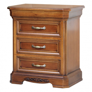 Classic bedside table in wood