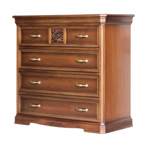Classic dresser with carvings