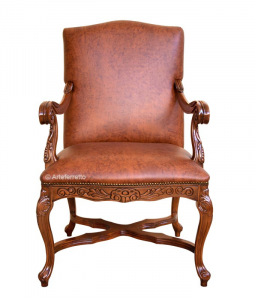 Upholstered Armchair Lord Byron