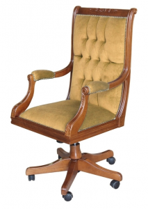 Classic swivel armchair Golden Class