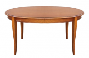 Oval extendable table 160 - 250 cm