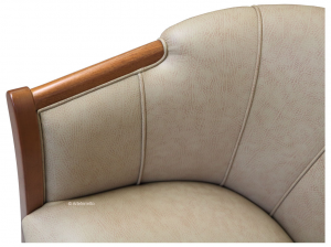 Tub armchair for living room