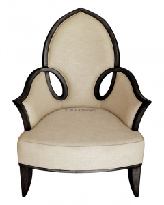 Shaped armchair Top Design