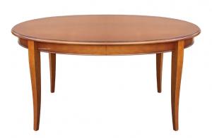 Extendable oval table 160 cm