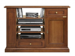 Multifunctional tv unit in wood