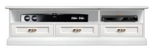 Italian design tv unit with soundbar shelf