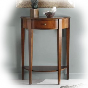Elegant console table with drawer and shelf
