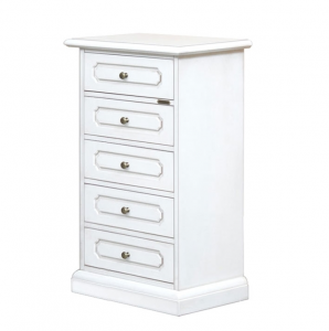 Wooden chest of 5 drawers