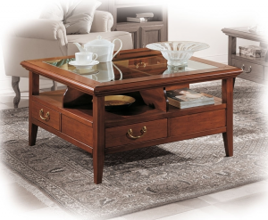 4-drawer coffee table