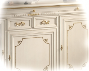 3-door 4-drawer sideboard