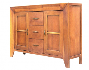 Wooden sideboard classic style