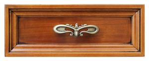 Writing desk leather top